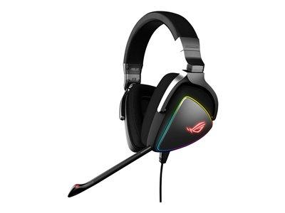 ASUS ROG Delta – Auricolare con microfono – dimensione completa – cablato – USB, USB-C [ TT722150 ]