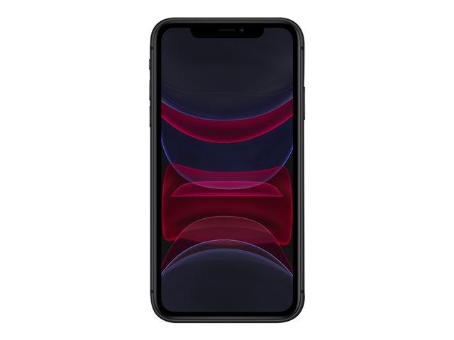 Apple iPhone 11 – Smartphone – dual SIM – 4G Gigabit Class LTE – 128 GB – GSM – 6.1″ – 1792 x 828 pixel (326 ppi) – Liquid Retina HD display (telecamera anteriore 12 MP) – 2x telecamere posteriori – nero [ TT795462 ]