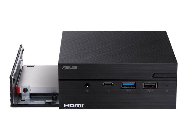 ASUS Mini PC PN40 BC099MC – PC mini – 1 x Celeron N4000 / 1.1 GHz – RAM 4 GB – SSD – eMMC 64 GB – UHD Graphics 600 – GigE, Bluetooth 5.0 – WLAN: 802.11a/b/g/n/ac, Bluetooth 5.0 – senza SO -monitor: nessuno [ TT708782 ]