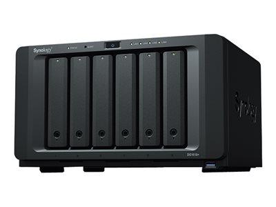 Synology Disk Station DS1618+ – Server NAS – 6 alloggiamenti – SATA 6Gb/s – RAID 0, 1, 5, 6, 10, JBOD – RAM 4 GB – Gigabit Ethernet – iSCSI [ TT707535 ]