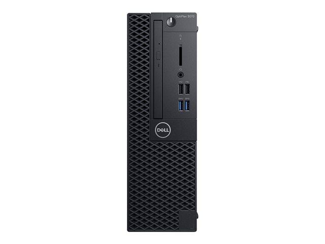 Dell OptiPlex 3070 – SFF – 1 x Core i5 8500 / 3 GHz – RAM 8 GB – SSD 256 GB – masterizzatore DVD – UHD Graphics 630 – GigE – Win 10 Pro Edizione a 64 bit -monitor: nessuno – BTS – con 1 anno di base in sede [ TT796238 ]