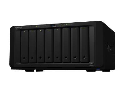 Synology Disk Station DS1819+ – Server NAS – 8 alloggiamenti – SATA 6Gb/s – RAID 0, 1, 5, 6, 10, JBOD – RAM 4 GB – Gigabit Ethernet – iSCSI [ TT722300 ]