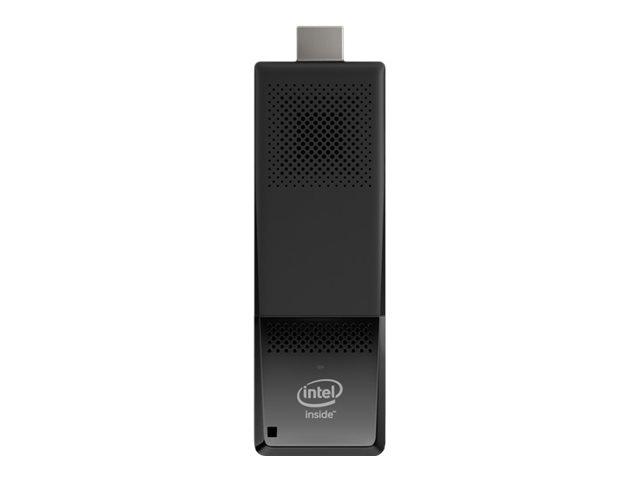 Intel Compute Stick STK1AW32SC – Chiavetta – 1 x Atom x5 Z8300 / 1.44 GHz – RAM 2 GB – flash – eMMC 32 GB – HD Graphics – WLAN: Bluetooth 4.0, 802.11a/b/g/n/ac – Win 10 Home 32-bit -monitor: nessuno [ TT289776 ]