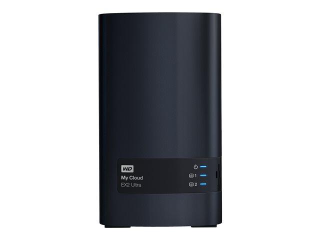 WD My Cloud EX2 Ultra WDBVBZ0080JCH – Dispositivo di storage personal cloud – 2 alloggiamenti – 8 TB – HDD 4 TB x 2 – RAID 0, 1, JBOD – Gigabit Ethernet – iSCSI [ TT149003 ]