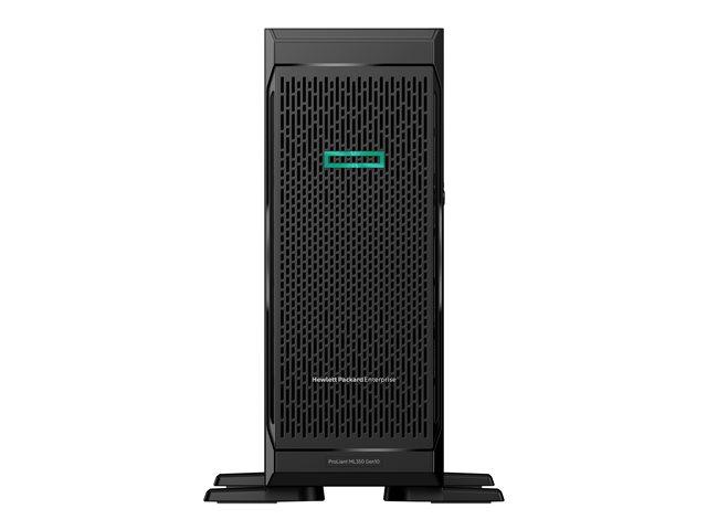 HPE ProLiant ML350 Gen10 Sub-Entry – Server – tower – 4U – a 2 vie – 1 x Xeon Bronze 3104 / 1.7 GHz – RAM 8 GB – SATA – non-hot-swap 3.5″ – nessun HDD – GigE -monitor: nessuno [ TT554392 ]