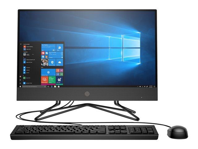 HP 200 G4 – All-in-one – Core i5 10210U / 1.6 GHz – RAM 8 GB – SSD 256 GB – NVMe – UHD Graphics – GigE – WLAN: 802.11a/b/g/n/ac, Bluetooth 4.2 – Win 10 Pro Edizione a 64 bit -monitor: LED 21.5″ 1920 x 1080 (Full HD) – tastiera: italiana [ TT800016 ]