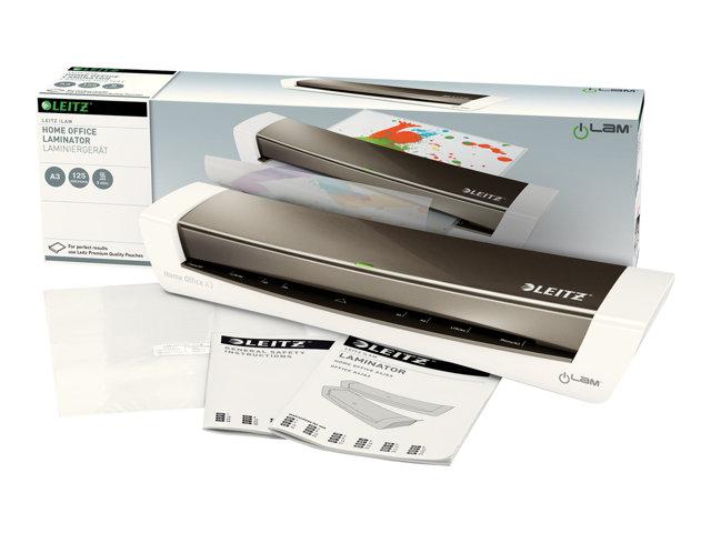 Leitz iLAM Home Office A3 – Plastificatrice – plastificatrice a freddo o a caldo – astuccio – 32 cm [ TT228551 ]
