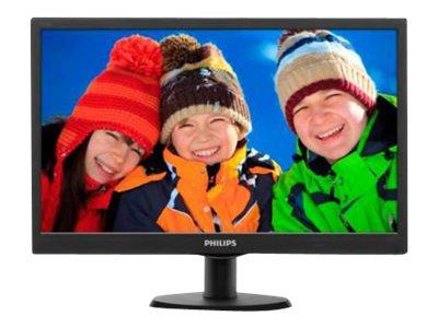 Monitor 193V5LSB2/10 18,5″ LED, 1366 x 768, 16:9, 200 cd/m2, vga, 5ms, vesa 100*100, nero, SmartContrast: 10,000,000:1 Garanzia 2 anni [ TT53788 ]
