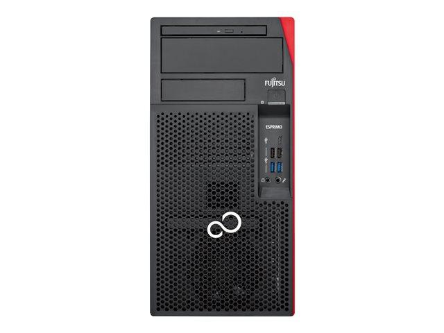 Fujitsu ESPRIMO P558/E85+ – Micro tower – 1 x Core i5 9400 / 2.9 GHz – RAM 8 GB – SSD 512 GB – NVMe – UHD Graphics 630 – GigE – Win 10 Pro Edizione a 64 bit -monitor: nessuno [ TT793508 ]