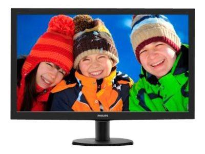 Monitor 273V5LHSB/00 27″ LED, 1920*1080, 16:9, 300 cd/m2, hdmi, vga, 5ms, vesa 100*100, nero, SmartContrast: 10,000,000:1 Garanzia 2 anni [ TT54515 ]