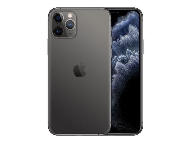 Apple iPhone 11 Pro – Smartphone – dual SIM – 4G Gigabit Class LTE – 256 GB – GSM – 5.8″ – 2436 x 1125 pixel (458 ppi) – Super Retina XDR Display (telecamera anteriore 12 MP) – 3 x telecamere posteriori – grigio spazio [ TT795474 ]