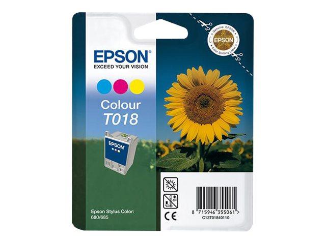 Cartuccia inchiostro a 3 colori, in confezione blister RS.STYLUS COLOR 680, STYLUS COLOR 680 TRANSPARENT [ TT112868 ]