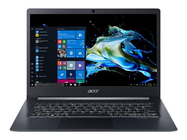 Acer TravelMate X5 TMX514-51-740G – Core i7 8565U / 1.8 GHz – Win 10 Pro Edizione a 64 bit – 8 GB RAM – 512 GB SSD NVMe – 14″ IPS 1920 x 1080 (Full HD) – UHD Graphics 620 – Wi-Fi, Bluetooth – Graphite Black – tast: italiana [ TT802982 ]