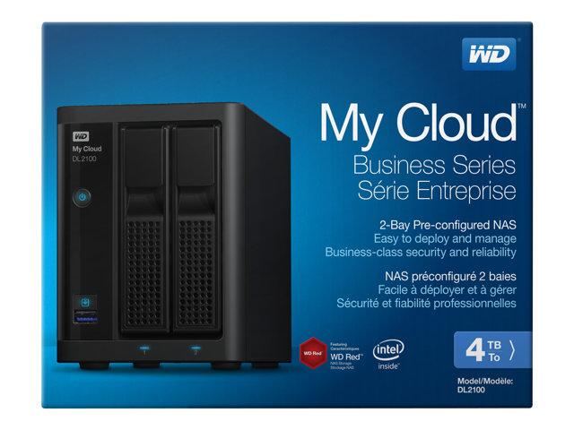 WD My Cloud PR2100 WDBBCL0040JBK – Server NAS – 2 alloggiamenti – 4 TB – HDD 2 TB x 2 – RAID 0, 1, JBOD – Gigabit Ethernet [ TT189789 ]