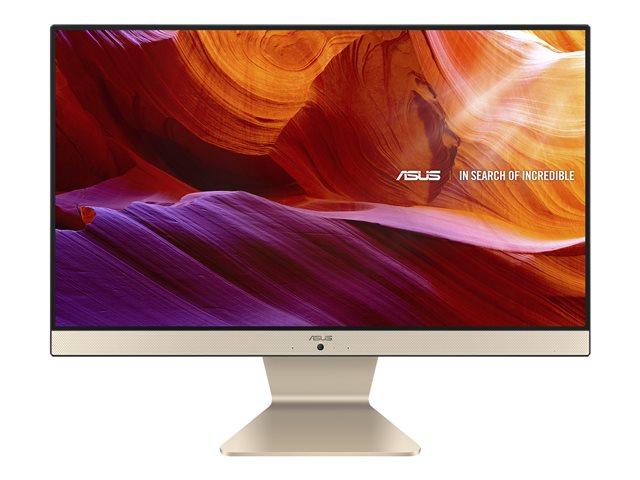 ASUS Vivo AiO V222FAK – All-in-one – Core i3 10110U / 2.1 GHz – RAM 4 GB – SSD 256 GB – NVMe – UHD Graphics – GigE – WLAN: 802.11a/b/g/n/ac, Bluetooth 5.0 – Win 10 Pro Edizione a 64 bit -monitor: LED 21.5″ 1920 x 1080 (Full HD) [ TT802225 ]