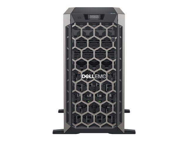 Dell EMC PowerEdge T440 – Server – tower – 5U – a 2 vie – 1 x Xeon Silver 4110 / 2.1 GHz – RAM 8 GB – SAS – hot-swap 3.5″ – HDD 1 TB – masterizzatore DVD – G200eR2 – GigE – senza SO -monitor: nessuno – BTP [ TT692766 ]