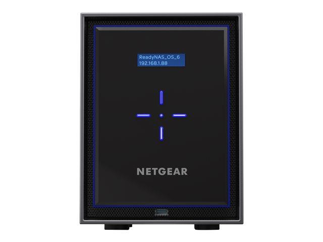 NETGEAR ReadyNAS RN42600 – Server NAS – 6 alloggiamenti – RAID 0, 1, 5, 6, 10, 50, JBOD, 60 – RAM 4 GB – Gigabit Ethernet – iSCSI [ TT410130 ]