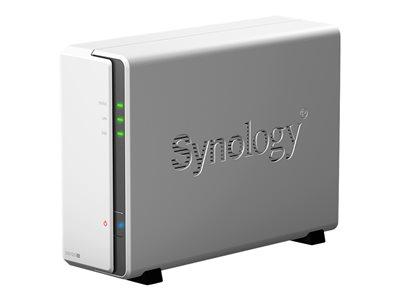 Synology Disk Station DS120J – Dispositivo di storage personal cloud – SATA 6Gb/s – RAM 512 GB – Gigabit Ethernet – iSCSI [ TT797969 ]