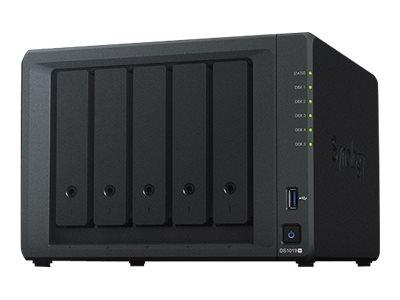 Synology Disk Station DS1019+ – Server NAS – 5 alloggiamenti – SATA 6Gb/s – RAID 0, 1, 5, 6, 10, JBOD – RAM 8 GB – Gigabit Ethernet – iSCSI [ TT797940 ]