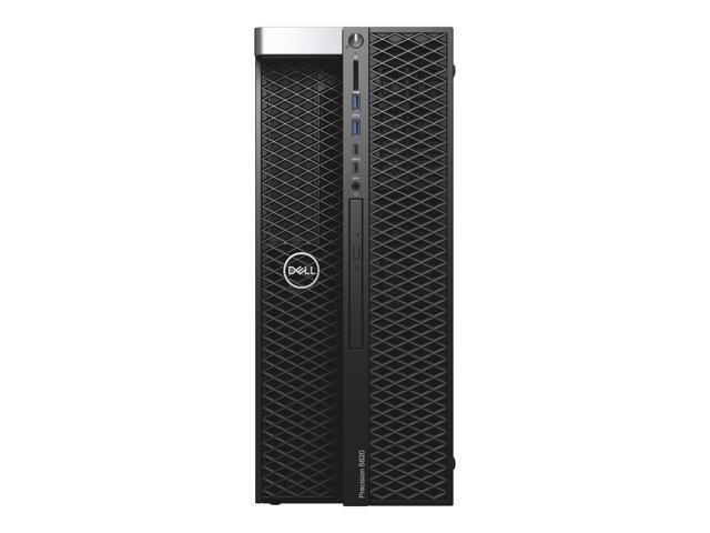 Dell 5820 Tower – MDT – 1 x Xeon W-2235 / 3.8 GHz – RAM 16 GB – SSD 512 GB – masterizzatore DVD – Quadro P2200 – GigE – Win 10 Pro per Workstation – vPro -monitor: nessuno – BTP – con 3 anni di Dell ProSupport [ TT804013 ]