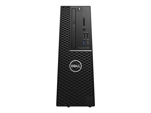 Dell Precision 3430 Small Form Factor – SFF – 1 x Core i5 8500 / 3 GHz – RAM 8 GB – HDD 1 TB – masterizzatore DVD – UHD Graphics 630 – GigE – Win 10 Pro Edizione a 64 bit – vPro -monitor: nessuno – BTS [ TT718724 ]