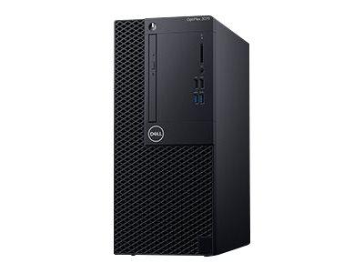 Dell OptiPlex 3070 – MT – 1 x Core i5 9500 / 3 GHz – RAM 8 GB – SSD 256 GB – masterizzatore DVD – UHD Graphics 630 – GigE – Win 10 Pro Edizione a 64 bit -monitor: nessuno – BTS – con 1 anno di base in sede [ TT792997 ]