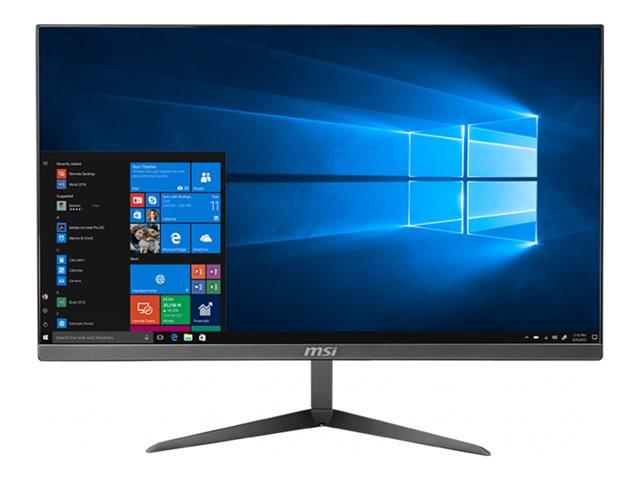 MSI Pro 24X 10M 015EU – All-in-one – Core i7 10510U / 1.8 GHz – RAM 8 GB – SSD 512 GB – UHD Graphics – GigE – WLAN: 802.11ac, Bluetooth 4.2 – Win 10 Home 64 bit -monitor: LED 23.8″ 1920 x 1080 (Full HD) [ TT801070 ]