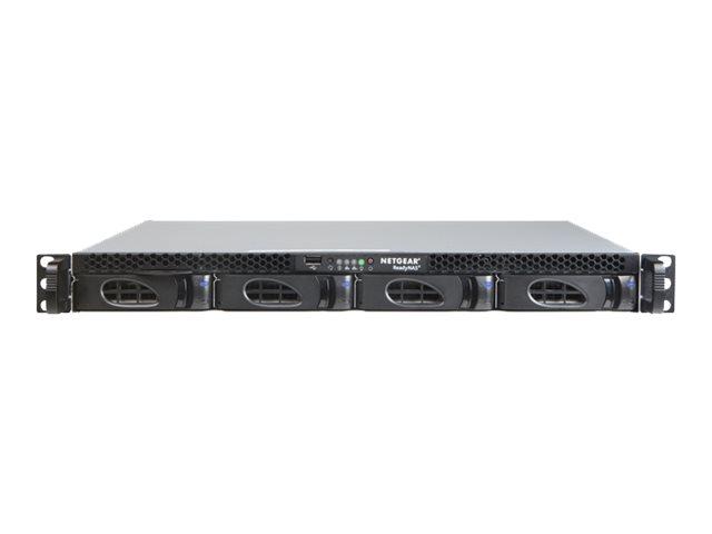 NETGEAR ReadyNAS 2304 – Server NAS – 4 alloggiamenti – 16 TB – montabile in rack – HDD 4 TB x 4 – RAID 0, 1, 5, 6, 10, JBOD – RAM 2 GB – Gigabit Ethernet – iSCSI – 1U [ TT413397 ]