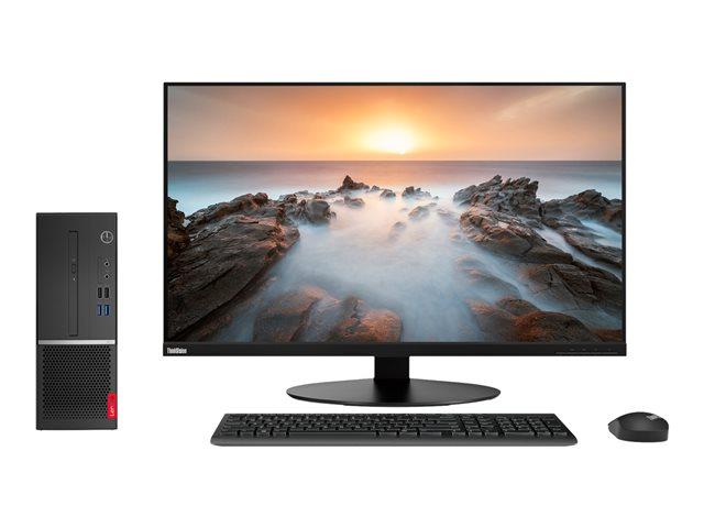 Lenovo V530s-7ICR 11BM – SFF – 1 x Core i5 9400 / 2.9 GHz – RAM 4 GB – SSD 256 GB – TCG Opal Encryption, NVMe – masterizzatore DVD – UHD Graphics 610 – GigE – Win 10 Pro Edizione a 64 bit -monitor: nessuno – tastiera: italiana – TopSeller [ TT794605 ]