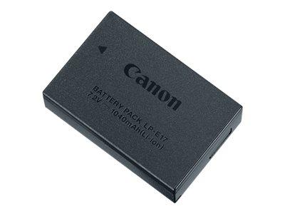 Canon LP-E17 – Batteria fotocamera Li-Ion 1040 mAh – per EOS 750D, 760D, 8000D, Kiss X8i, M5, Rebel T6s [ TT193753 ]