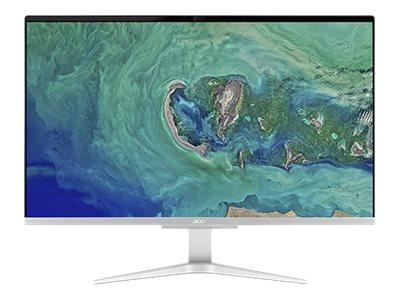 Acer Aspire C 27 C27-865 – All-in-one – 1 x Core i5 8250U / 1.6 GHz – RAM 8 GB – SSD 512 GB – GF MX130 – GigE – WLAN: 802.11a/b/g/n/ac, Bluetooth 4.2 – Win 10 Home 64 bit -monitor: LED 27″ 1920 x 1080 (Full HD) [ TT799968 ]
