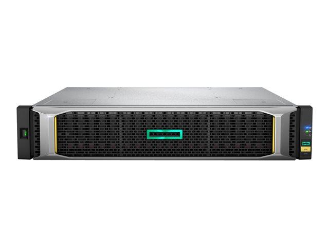 HPE Modular Smart Array 2052 SAN Dual Controller LFF Storage – Serie stato solido / hard drive – 1.6 TB – 12 alloggiamenti (SAS-2) – SSD 800 GB x 2 – montabile in rack – 2U [ TT553513 ]
