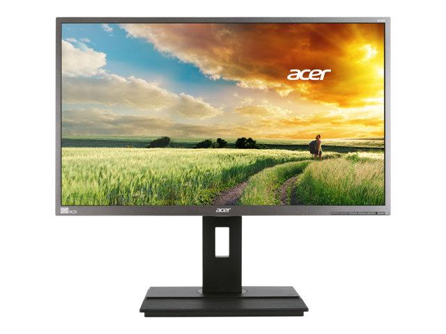 Acer B276HK – Monitor a LED – 27″ – 3840 x 2160 4K – IPS – 300 cd/m² – 6 ms – DVI, HDMI, MHL, DisplayPort, Mini DisplayPort – grigio scuro [ TT801882 ]