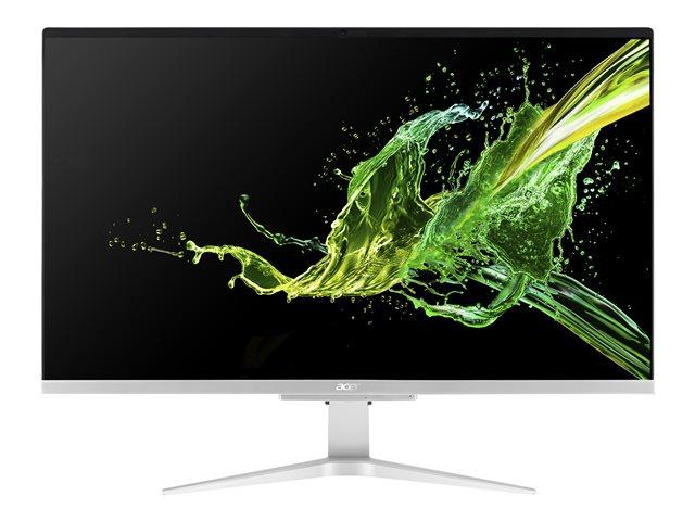 Acer Aspire C 27 C27-962 – All-in-one – Core i5 1035G1 / 1 GHz – RAM 8 GB – SSD 1.024 TB – GF MX130 – GigE, 802.11ac Wave 2, Bluetooth 5.0 – WLAN: 802.11a/b/g/n/ac Wave 2, Bluetooth 5.0 – Win 10 Home 64 bit -monitor: LED 27″ 1920 x 1080 (Full HD) [ TT802198 ]