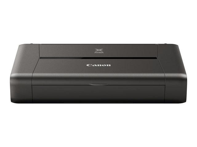 Canon PIXMA iP110w – Stampante – colore – ink-jet – A4/Legal – fino a 9 ipm (mono) / fino a 5.8 ipm (colore) – capacità 50 fogli – USB 2.0, Wi-Fi(n) – con batteria LK-62 [ TT153710 ]