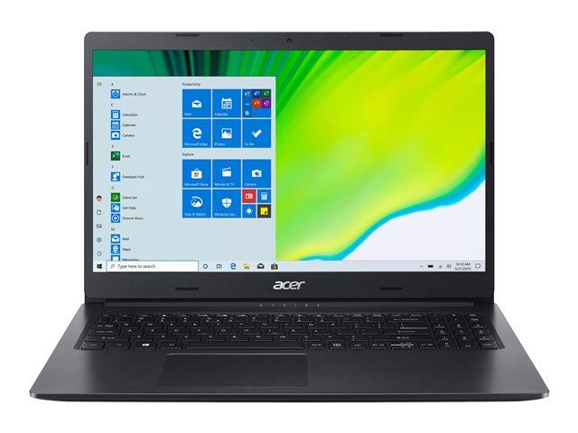 Acer Aspire 3 A315-23-R8MF – Ryzen 3 3250U / 2.6 GHz – Windows 10 Home 64-bit in modalità S – 8 GB RAM – 256 GB SSD – 15.6″ 1920 x 1080 (Full HD) – Radeon Graphics – Wi-Fi – nero di spagna – tast: italiana [ TT804628 ]