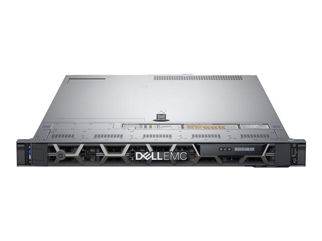 Dell EMC PowerEdge R640 – Server – montabile in rack – 1U – a 2 vie – 1 x Xeon Silver 4214R / 2.4 GHz – RAM 32 GB – SAS – hot-swap 2.5″ baia(e) – SSD 480 GB – G200eW3 – GigE, 10 GigE – senza SO -monitor: nessuno – BTP – con 3 Anni Basic Onsite [ TT806579 ]