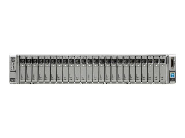Cisco UCS SmartPlay Select C240 M4SX Advanced 1 – montabile in rack – Xeon E5-2680V4 2.4 GHz – 256 GB – 0 GB [ TT712689 ]