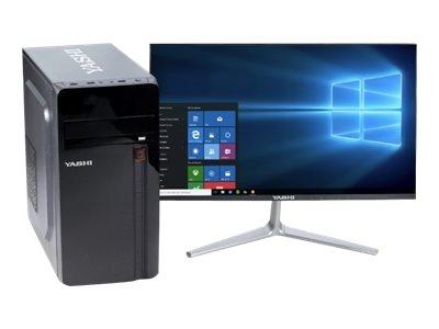 Yashi MT YY94243 – MT – Core i5 9400 / 2.9 GHz – RAM 4 GB – SSD 240 GB – masterizzatore DVD – UHD Graphics 630 – GigE – FreeDOS -monitor: nessuno – tastiera: italiana [ TT802241 ]