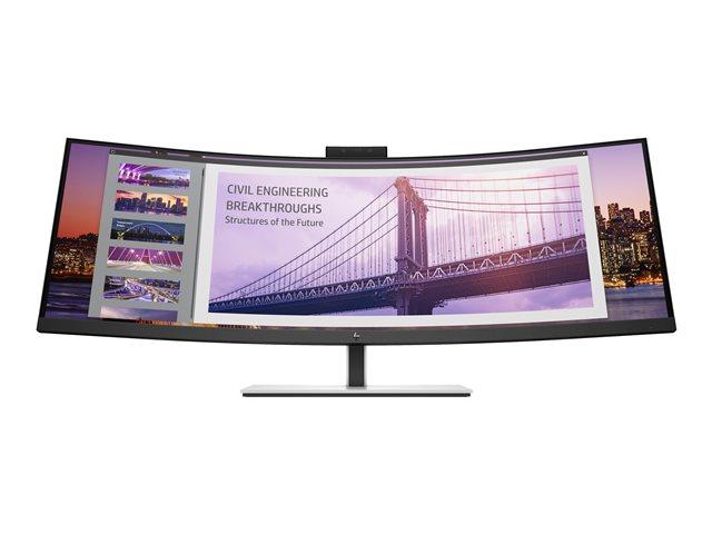 HP S430c – Monitor a LED – curvato – 43.4″ (43.4″ visualizzabile) – 3840 x 1200 4K UHD (2160p) @ 60 Hz – VA – 350 cd/m² – 3000:1 – 5 ms – HDMI, DisplayPort [ TT805136 ]
