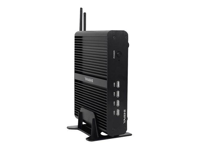 Yashi Nucky7 NY8565 – PC mini – Core i7 8565U / 1.8 GHz – RAM 8 GB – SSD 480 GB – UHD Graphics 620 – GigE – Windows 10 Enterprise -monitor: nessuno – tastiera: italiana [ TT805439 ]