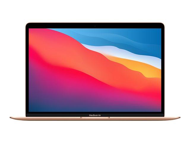 Apple MacBook Air – M1 – macOS Big Sur 11.0 – 16 GB RAM – 1 TB SSD – 13.3″ IPS 2560 x 1600 (WQXGA) – M1 8-core GPU – Bluetooth, Wi-Fi 6 – oro – CTO [ TT808145 ]