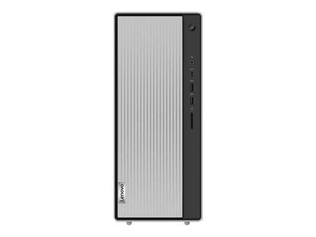 Lenovo IdeaCentre 5 14IMB05 90NA – Tower – Core i5 10400 / 2.9 GHz – RAM 8 GB – SSD 256 GB – NVMe, HDD 1 TB – masterizzatore DVD – UHD Graphics 630 – GigE – WLAN: Bluetooth 5.0, 802.11a/b/g/n/ac/ax – Win 10 Home 64 bit -monitor: nessuno – tastiera: italiana [ TT805527 ]