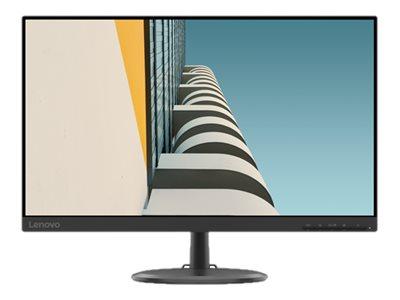 Lenovo D24-20 – Monitor a LED – 23.8″ (23.8″ visualizzabile) – 1920 x 1080 Full HD (1080p) @ 75 Hz – VA – 250 cd/m² – 1000:1 – 4 ms – HDMI, VGA – nero corvino [ TT805143 ]