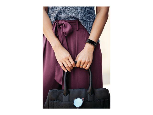 Fitbit Charge 4 – Nero – sistema di monitoraggio attività con cinturino – elastomero – blu mareggiata – dimensione banda fino a 247 mm – monocromatico – NFC, Bluetooth – 30 g [ TT809153 ]