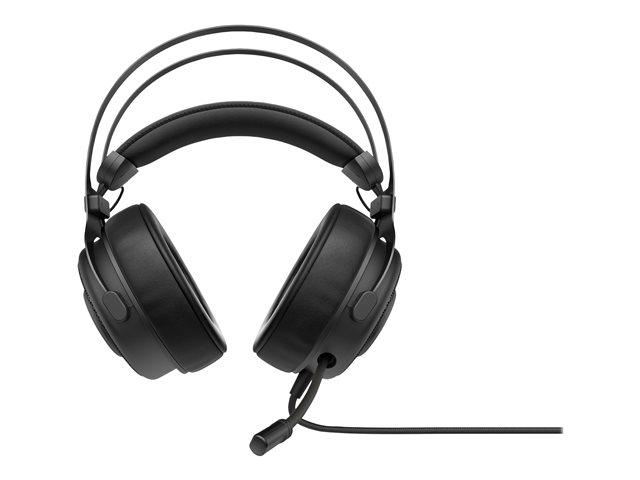 OMEN by HP Blast – Cuffie con microfono – dimensione completa – cablato – USB – nero ombreggiato [ TT809236 ]