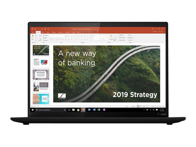 Lenovo ThinkPad X1 Nano Gen 1 20UN – Core i7 1160G7 / 2.1 GHz – Evo – Win 10 Pro Edizione a 64 bit – 16 GB RAM – 1 TB SSD NVMe – 13″ IPS 2160 x 1350 (2K) – Iris Xe Graphics – Wi-Fi, Bluetooth – 5G – vernice nera – tast: italiana – con 3 anni Lenovo Premier Support, compensazione Co2 0,5 tonnellate [ TT808457 ]
