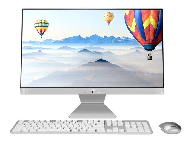 ASUS Vivo AiO V241EAK – All-in-one – Core i7 1165G7 / 2.8 GHz – RAM 8 GB – SSD 512 GB – NVMe – Iris Xe Graphics – GigE – WLAN: 802.11a/b/g/n/ac, Bluetooth 5.0 – Win 10 Pro Edizione a 64 bit -monitor: LED 23.8″ 1920 x 1080 (Full HD) [ TT808982 ]