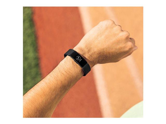 Fitbit Inspire HR – Nero – sistema di monitoraggio attività con cinturino – silicone – nero – dimensione banda 140-220 mm – S/L – monocromatico – Bluetooth – 20 g [ TT809143 ]