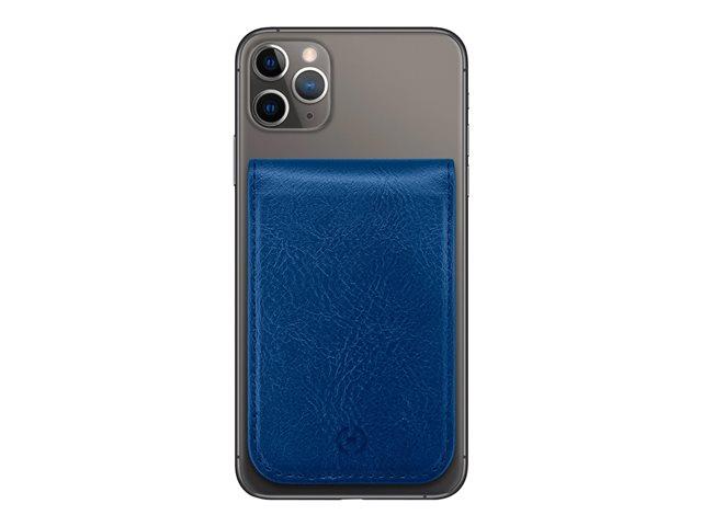 CELLY Duomo – Porta carte magnetico – similpelle – blu [ TT812314 ]